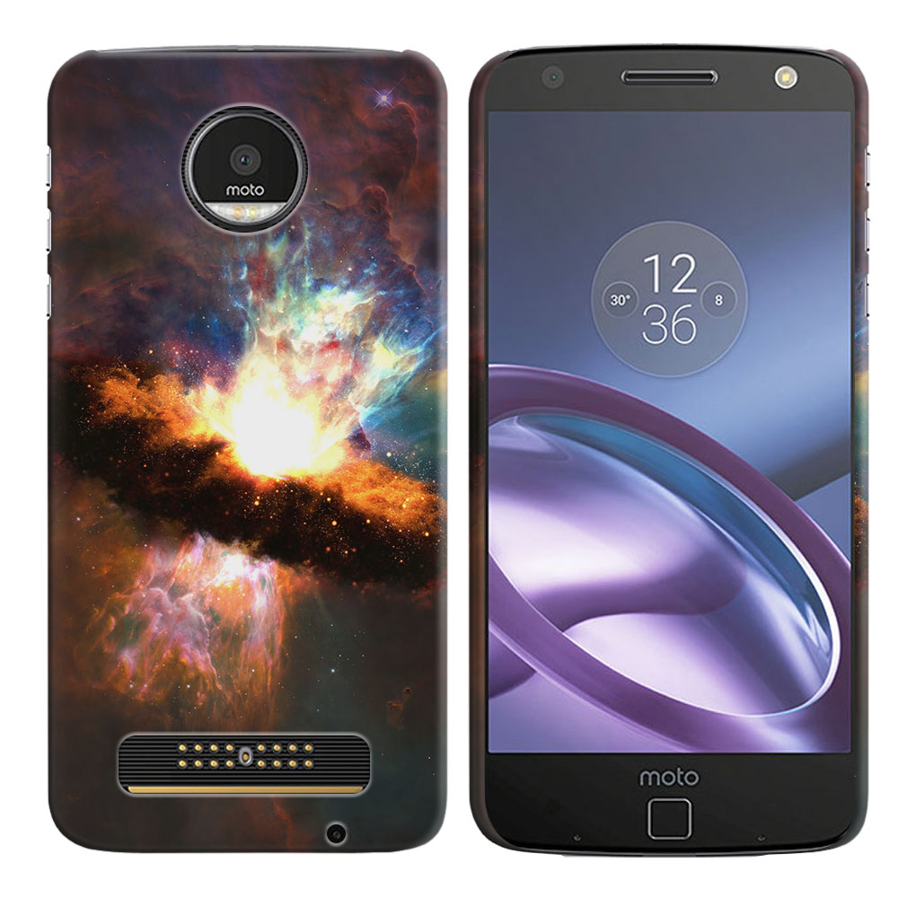 Motorola Moto Z Droid Edition Space Kaboom Back Cover Case