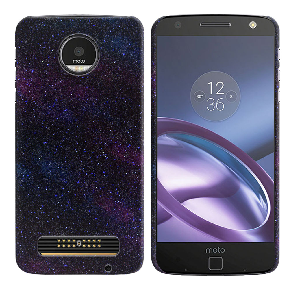 Motorola Moto Z Droid Edition Starry Night Sky Back Cover Case