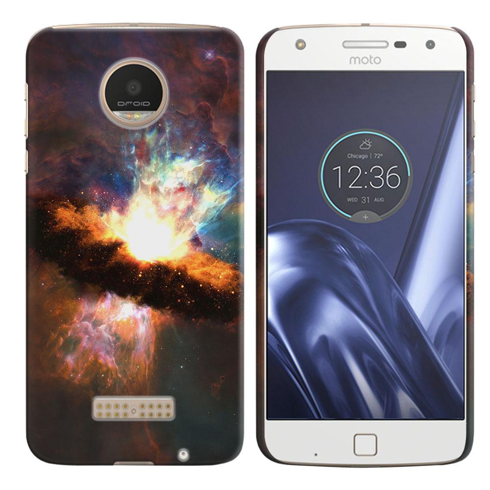 Motorola Moto Z Play Droid XT1635 Space Kaboom Back Cover Case