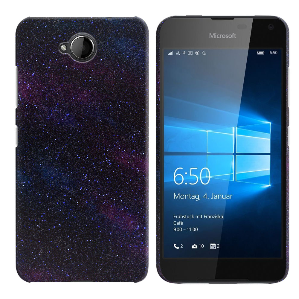 Microsoft Nokia Lumia 650 Starry Night Sky Back Cover Case