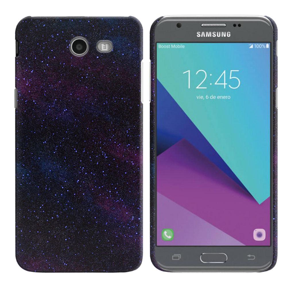 Samsung Galaxy J3 Emerge J327 2017 2nd Gen Starry Night Sky Back Cover Case