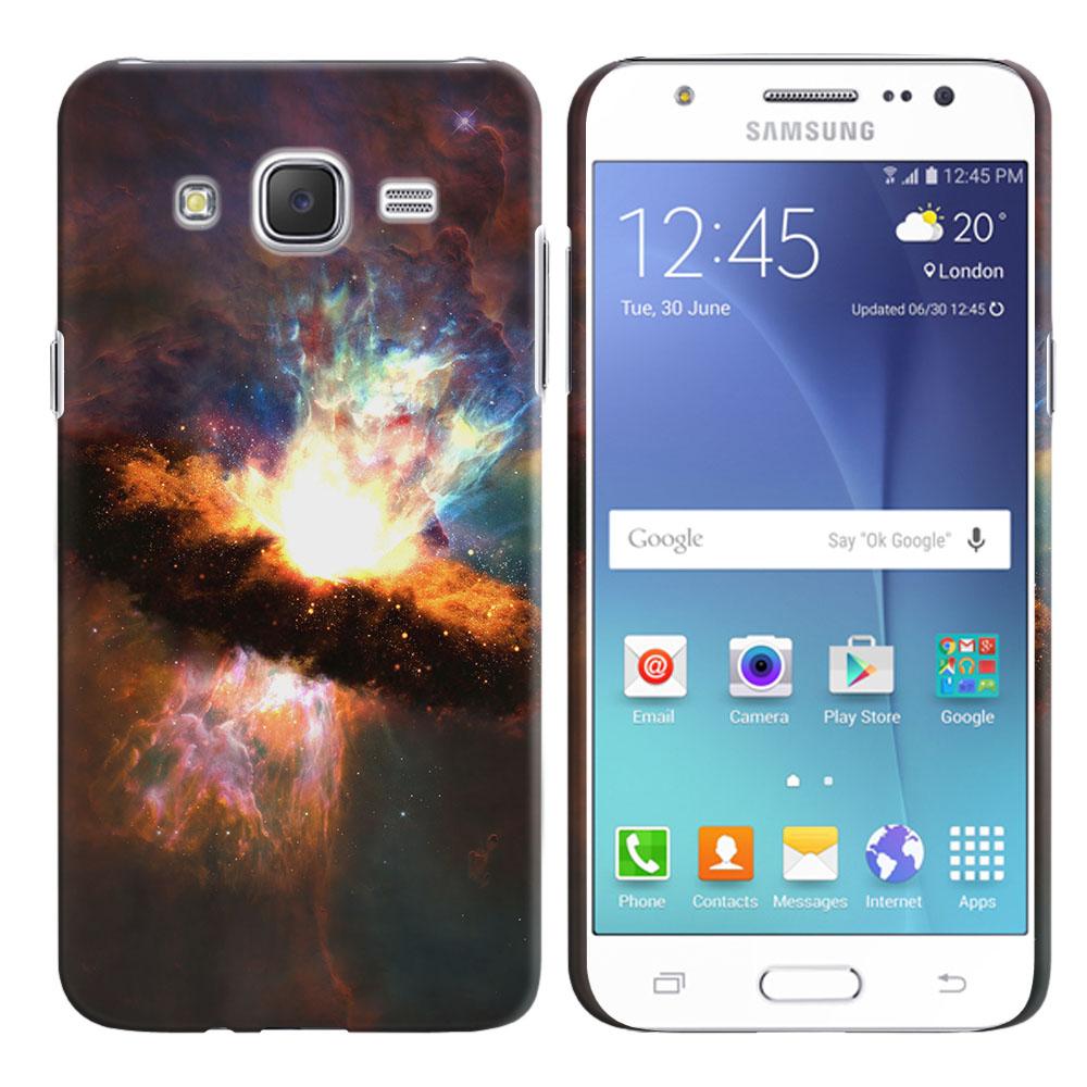 Samsung Galaxy J7 J700 Space Kaboom Back Cover Case