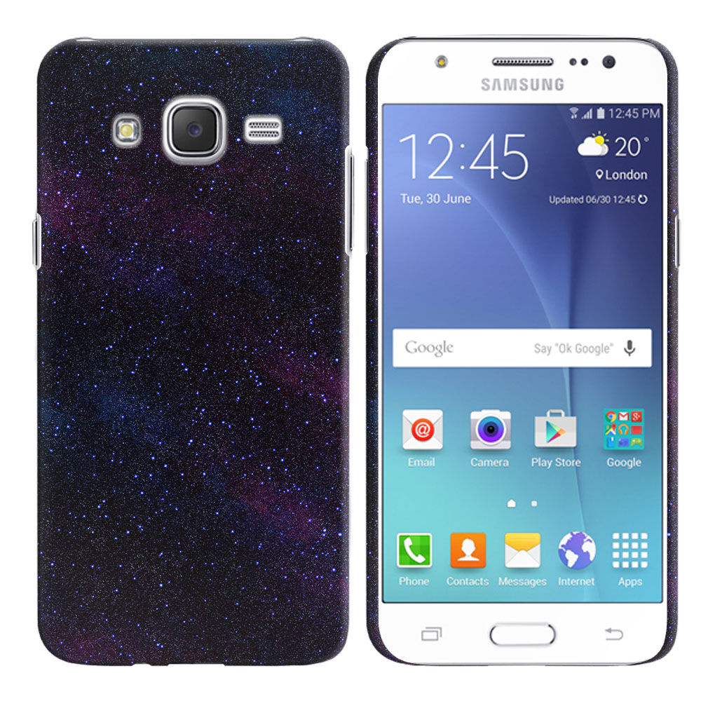 Samsung Galaxy J7 J700 Starry Night Sky Back Cover Case