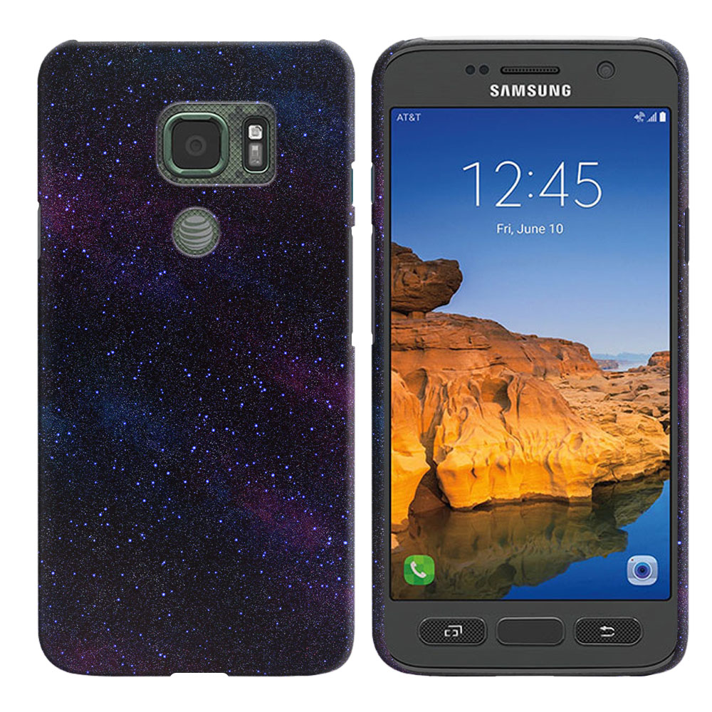 Samsung Galaxy S7 Active G891 Starry Night Sky Back Cover Case