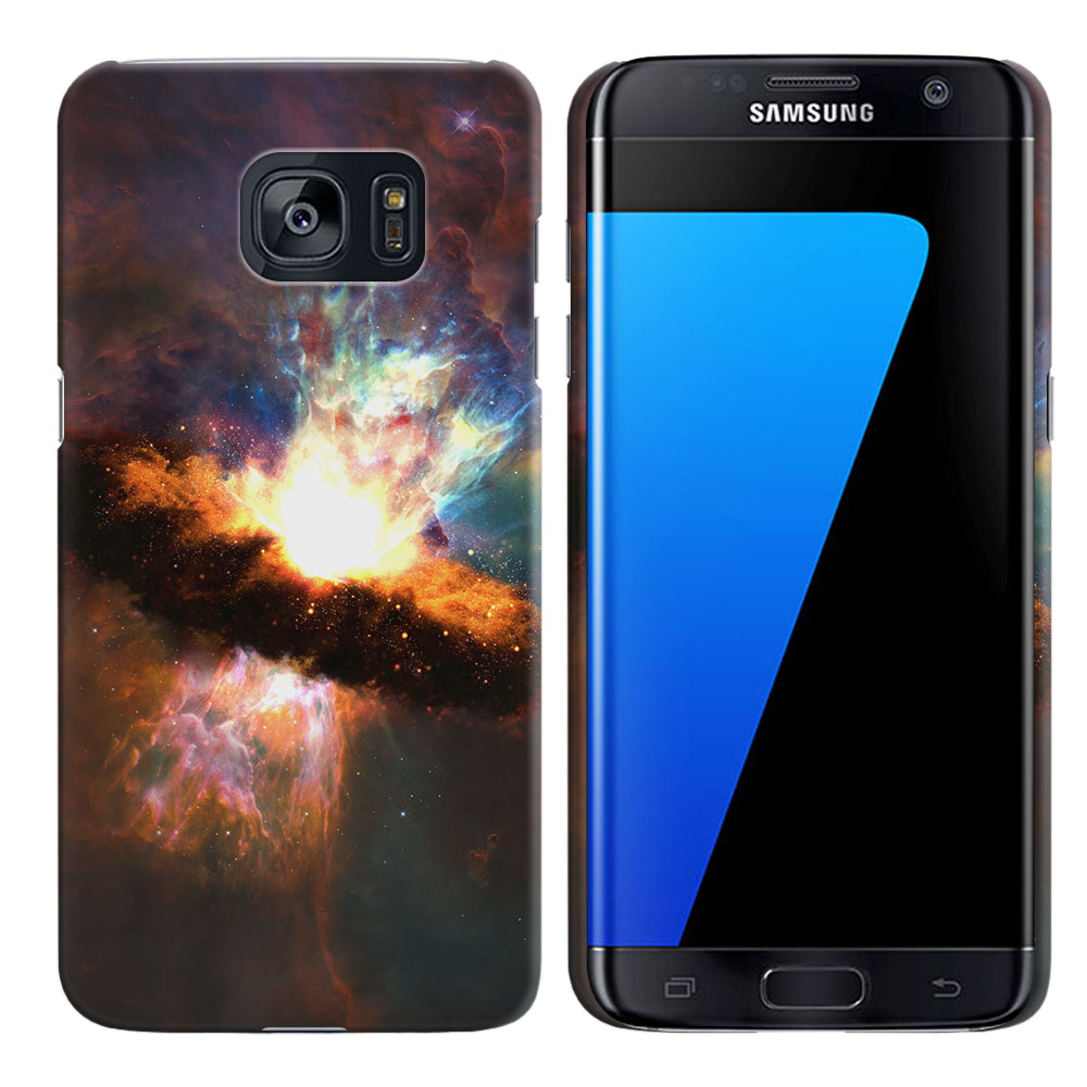 Samsung Galaxy S7 Edge G935 Space Kaboom Back Cover Case