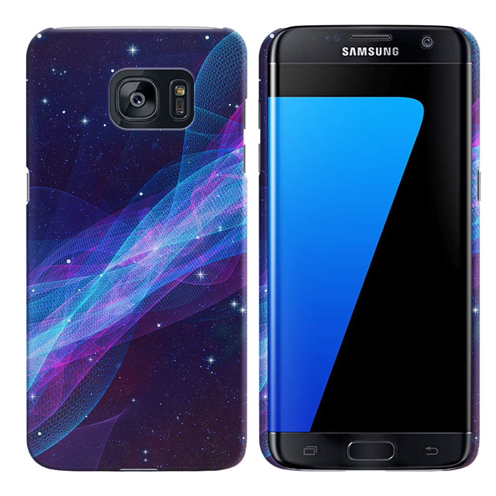 Samsung Galaxy S7 Edge G935 Space Wave Back Cover Case