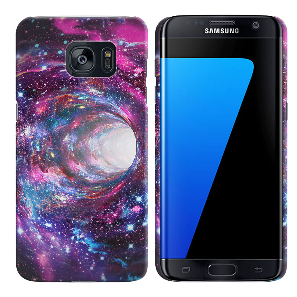 Samsung Galaxy S7 Edge G935 Space Wormhole Back Cover Case