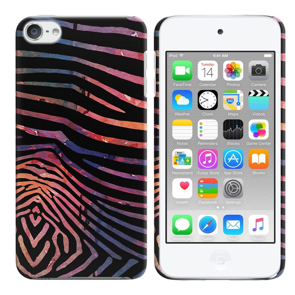 Apple iPod Touch 6 (6th Generation) Zebra Stripes Dusk Back Cover Case