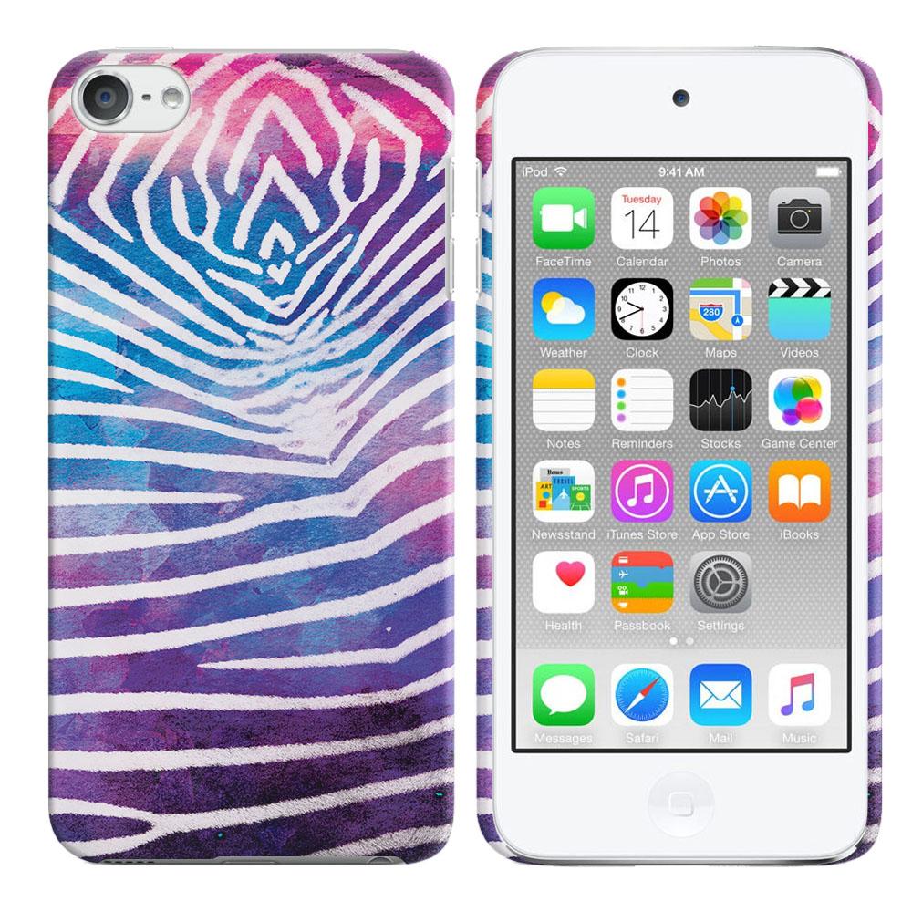 Apple iPod Touch 6 (6th Generation) Zebra Stripes White Back Cover Case