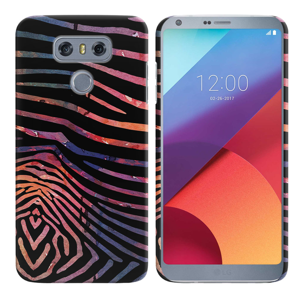 LG G6 H870 Zebra Stripes Dusk Back Cover Case