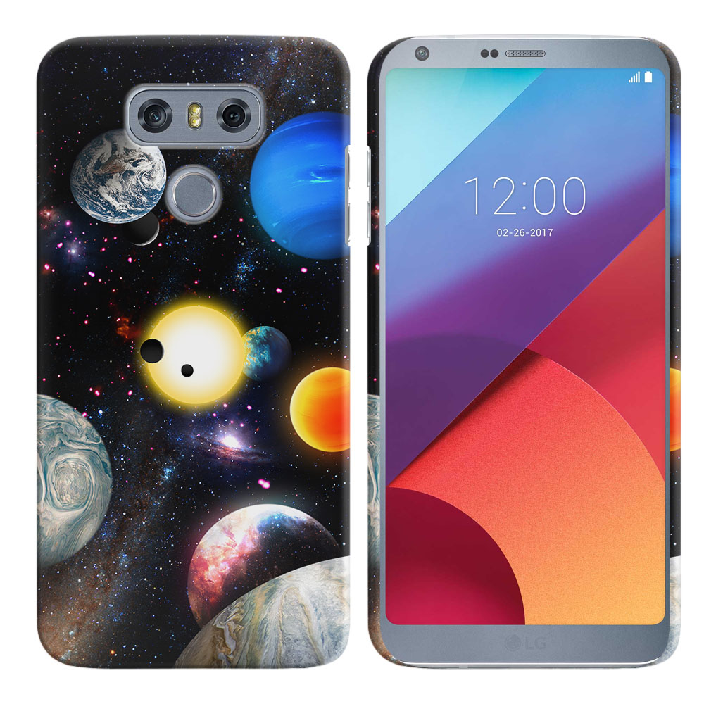 LG G6 H870 Planet Solar System 2 Back Cover Case