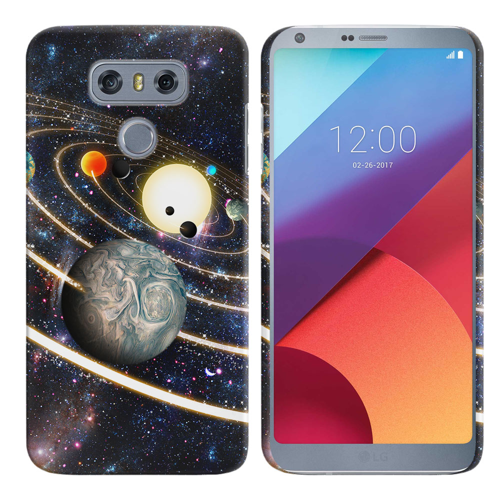 LG G6 H870 Rings of Solar System Back Cover Case