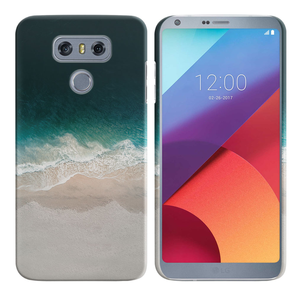 LG G6 H870 Sandy Beach Back Cover Case
