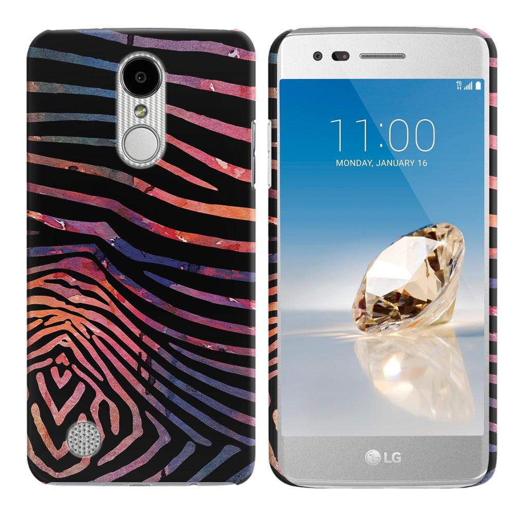 LG Aristo MS210 LV3 K8 (2017)/ Phoenix 3 M150 Zebra Stripes Dusk Back Cover Case