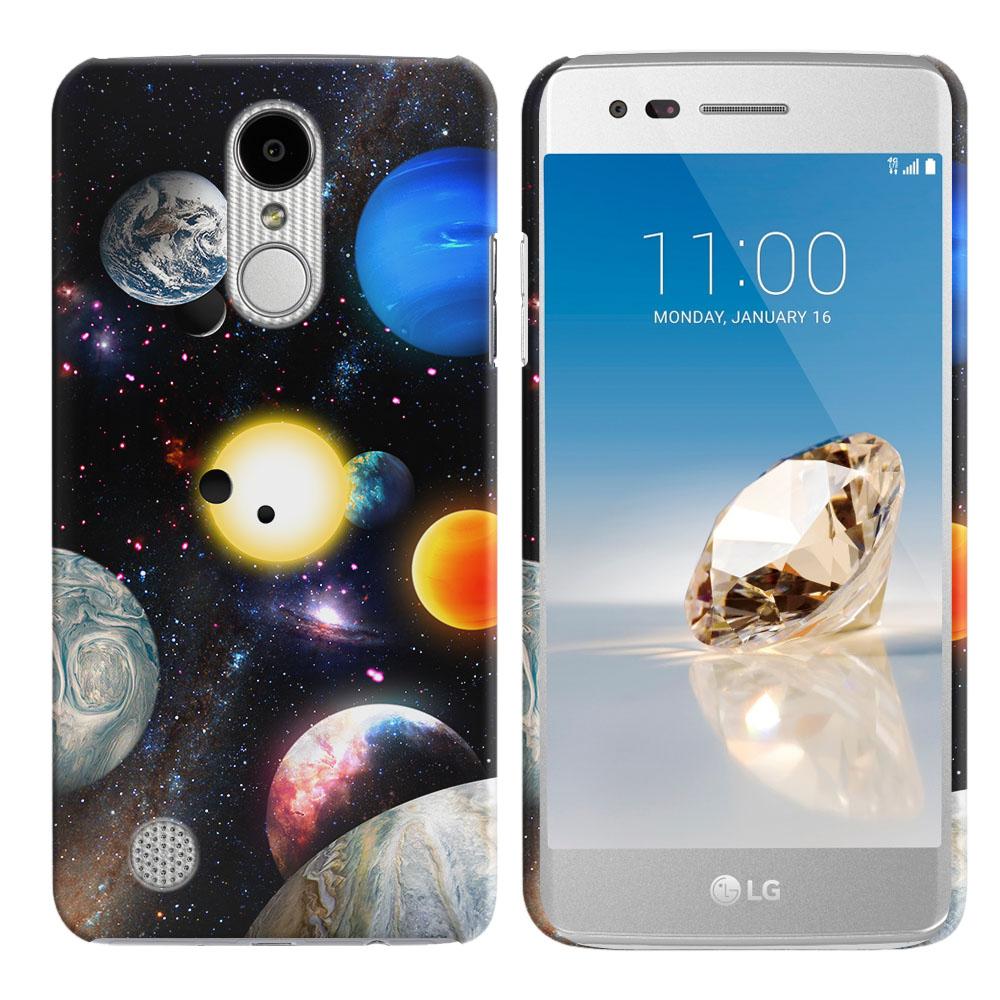 LG Aristo MS210 LV3 K8 (2017)/ Phoenix 3 M150 Planet Solar System 2 Back Cover Case
