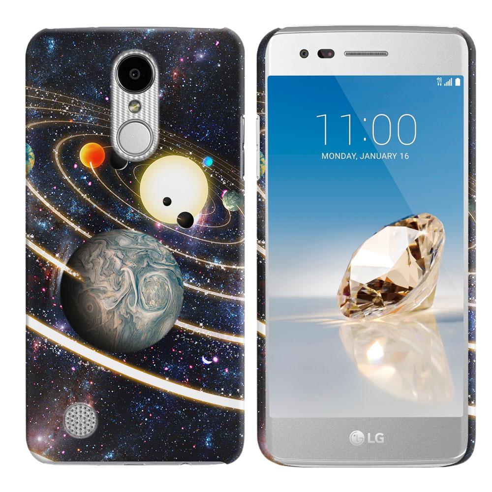LG Aristo MS210 LV3 K8 (2017)/ Phoenix 3 M150 Rings of Solar System Back Cover Case