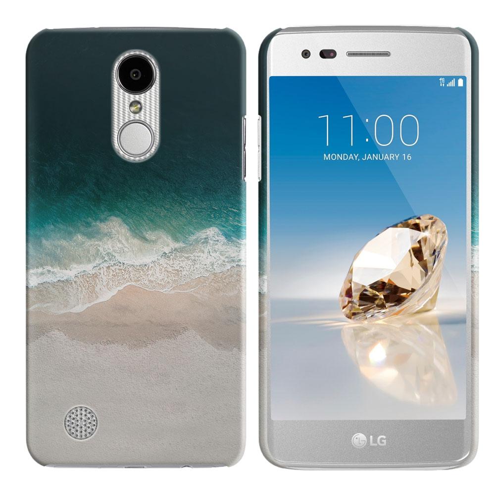 LG Aristo MS210 LV3 K8 (2017)/ Phoenix 3 M150 Sandy Beach Back Cover Case