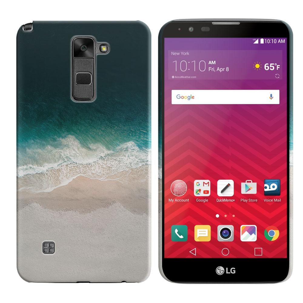 LG Stylus 2 LS775 K520 Stylo 2 Sandy Beach Back Cover Case