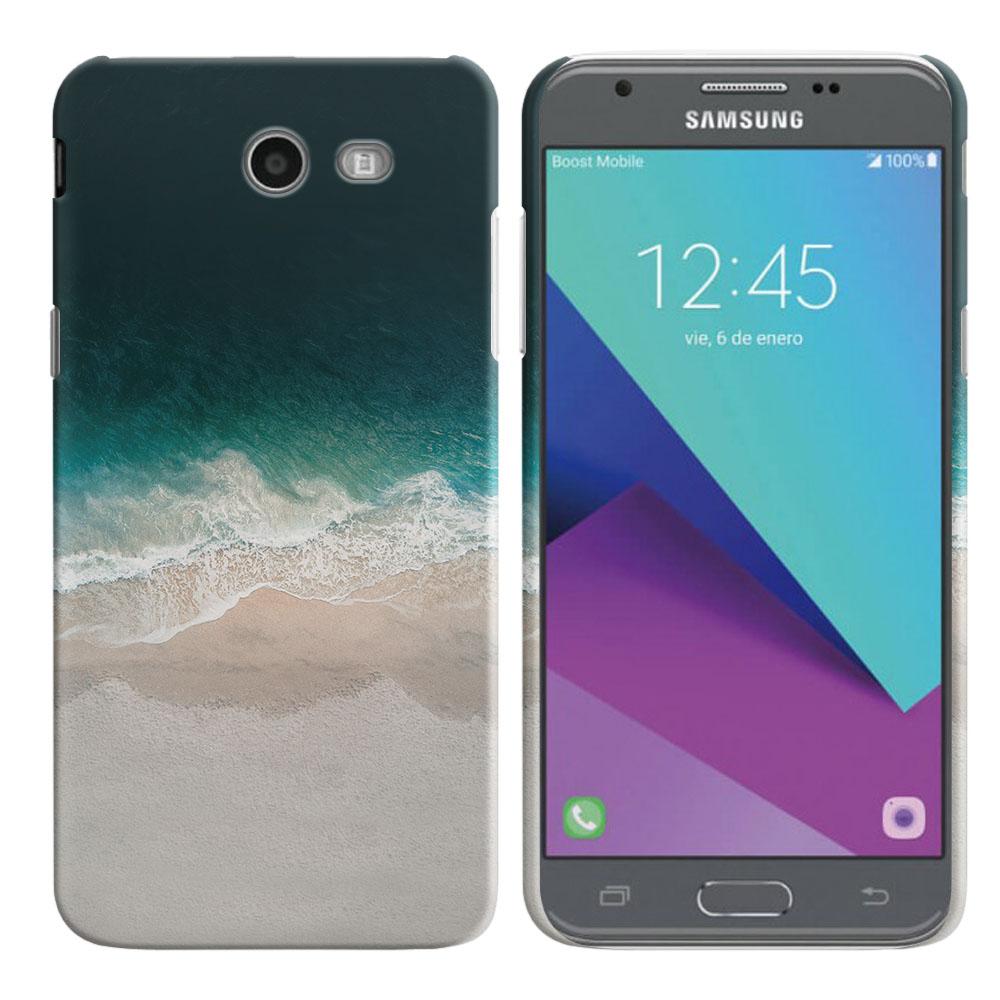 Samsung Galaxy J3 Emerge J327 2017 2nd Gen Sandy Beach Back Cover Case