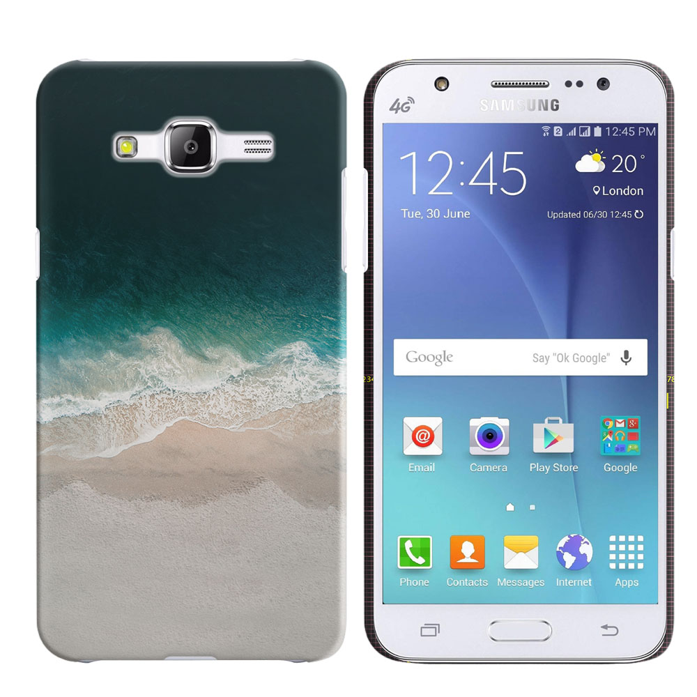 Samsung Galaxy J5 J500 Sandy Beach Back Cover Case
