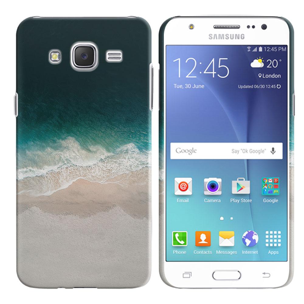 Samsung Galaxy J7 J700 Sandy Beach Back Cover Case
