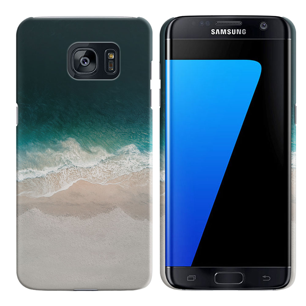 Samsung Galaxy S7 Edge G935 Sandy Beach Back Cover Case