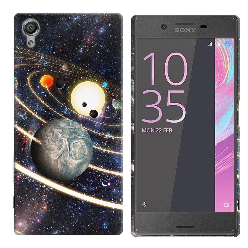Sony Xperia X Performance F8131 F8132 Rings of Solar System Back Cover Case