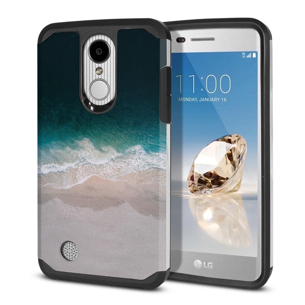 LG Aristo MS210 LV3 K8 (2017)/ Phoenix 3 M150 Hybrid Slim Fusion Sandy Beach Protector Cover Case