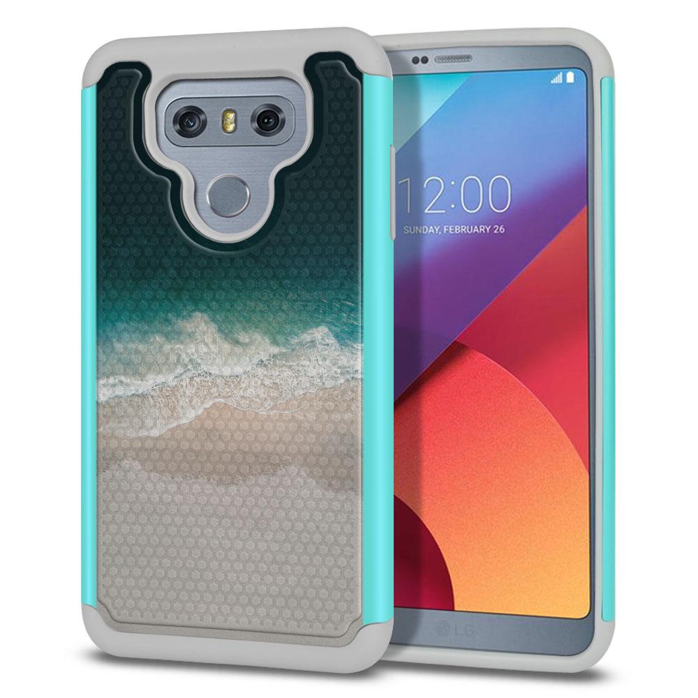 LG G6 H870 Texture Hybrid Sandy Beach Protector Cover Case